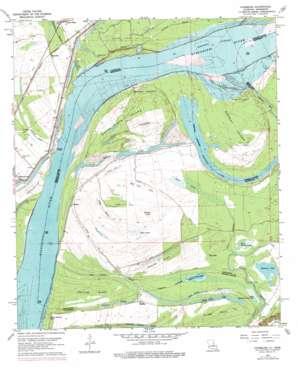 Chamblee topo map