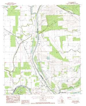 Foules USGS topographic map 31091g5