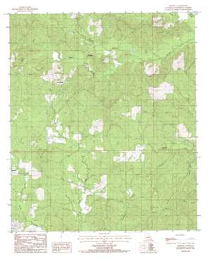 Aimwell topo map
