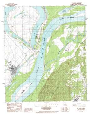 Saint Joseph topo map