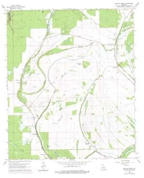 Gretna Green topo map
