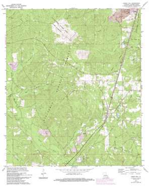 Forest Hill topo map