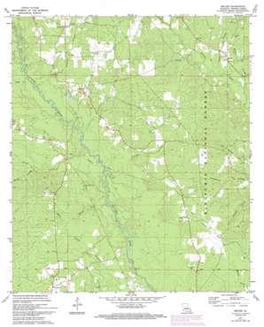 Melder topo map