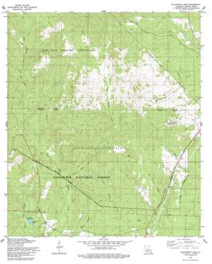 Fullerton Lake USGS topographic map 31092a8