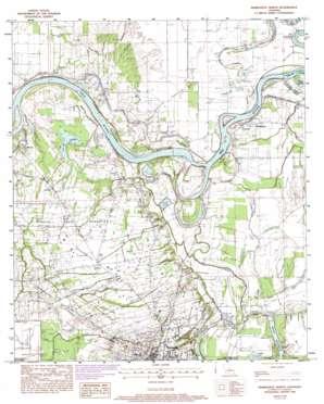 Marksville North topo map