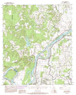 Effie USGS topographic map 31092b2