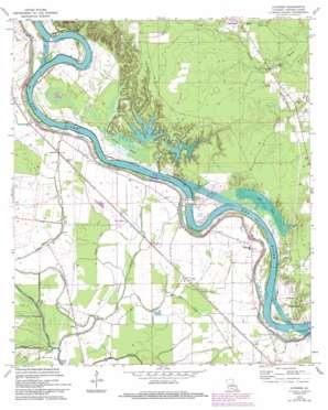Latanier USGS topographic map 31092b3