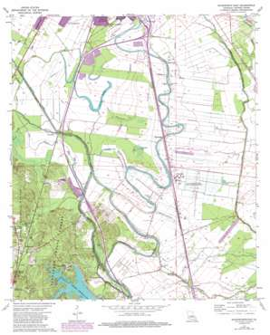 Woodworth East topo map