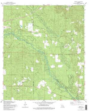 Sieper topo map