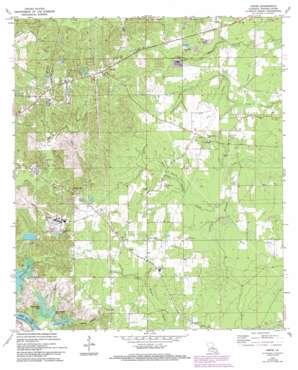 Libuse USGS topographic map 31092c3