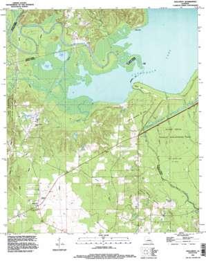 Holloway topo map