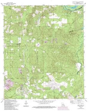 Green Gables topo map