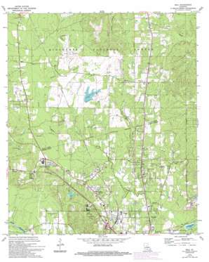 Ball topo map