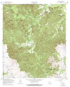 Gorum topo map