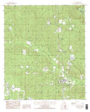 Pollock topo map