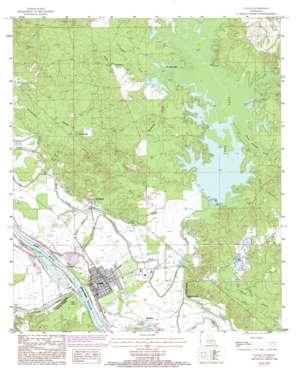 Colfax USGS topographic map 31092e6