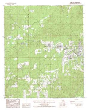 Jena West USGS topographic map 31092f2