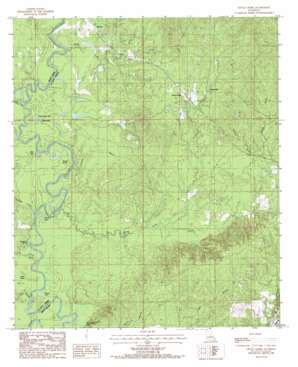 Little Creek topo map