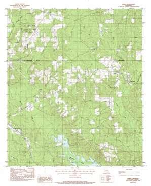 Verda topo map