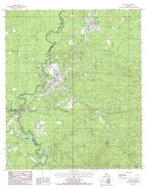 Tullos USGS topographic map 31092g3