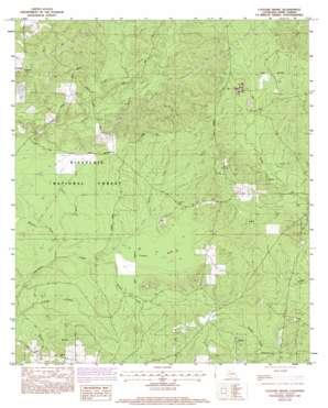 Coochie Brake topo map