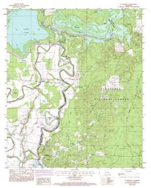 Saint Maurice topo map