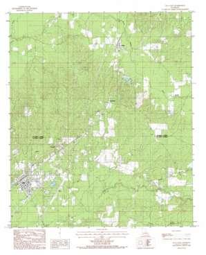 Olla East topo map