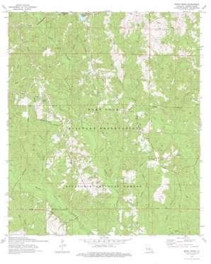Birds Creek topo map