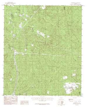 Harrisburg topo map