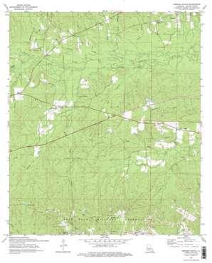 Simpson South topo map