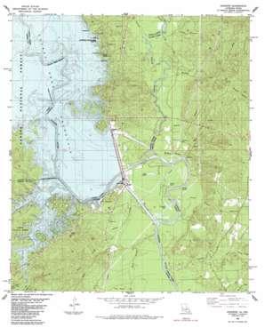 Haddens topo map