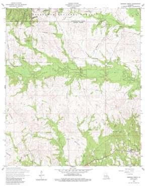Simpson North topo map
