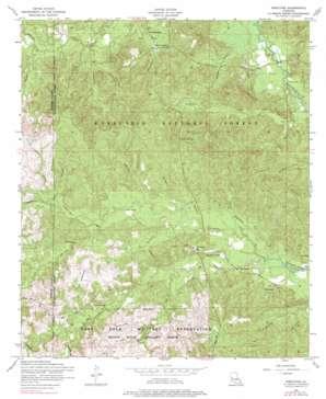 Kisatchie topo map