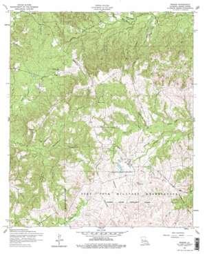 Peason USGS topographic map 31093d3