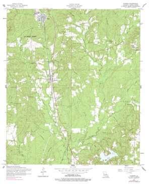 Florien topo map