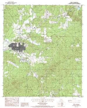 Many topo map