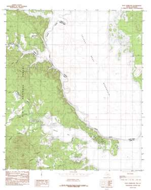 East Hamilton topo map