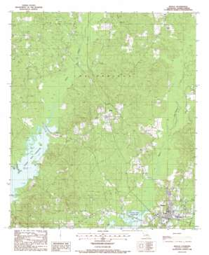 Zwolle USGS topographic map 31093f6