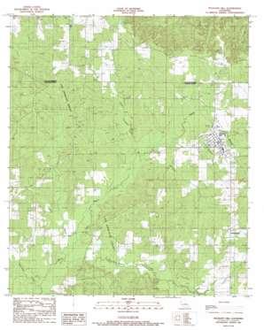 Pleasant Hill topo map