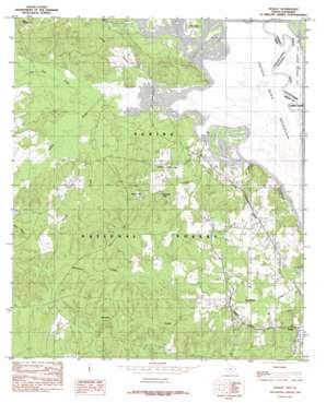 Huxley topo map