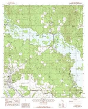 Campti topo map