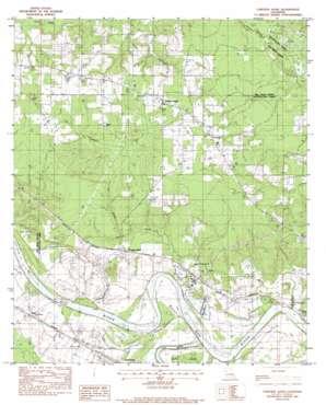 Messick topo map