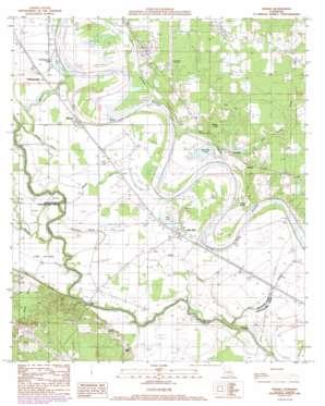 Hanna topo map