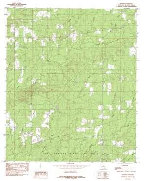 Hunter topo map