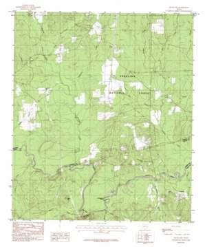 Rockland topo map