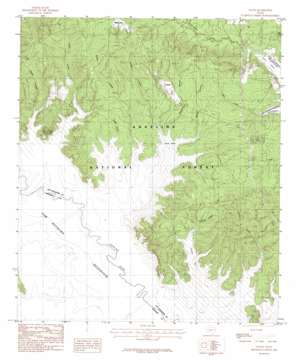 Veach USGS topographic map 31094b2