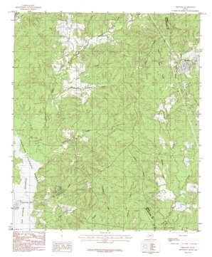 Bronson USGS topographic map 31094c1