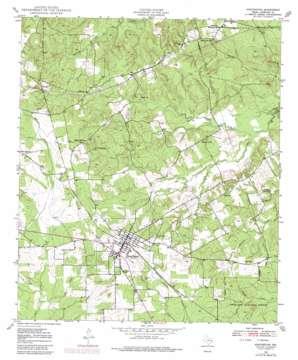 Huntington topo map