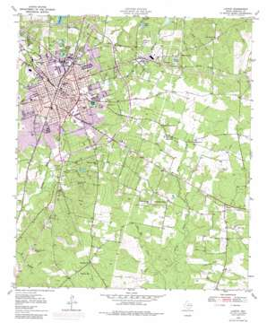 Lufkin topo map