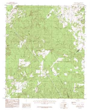 Chinquapin topo map